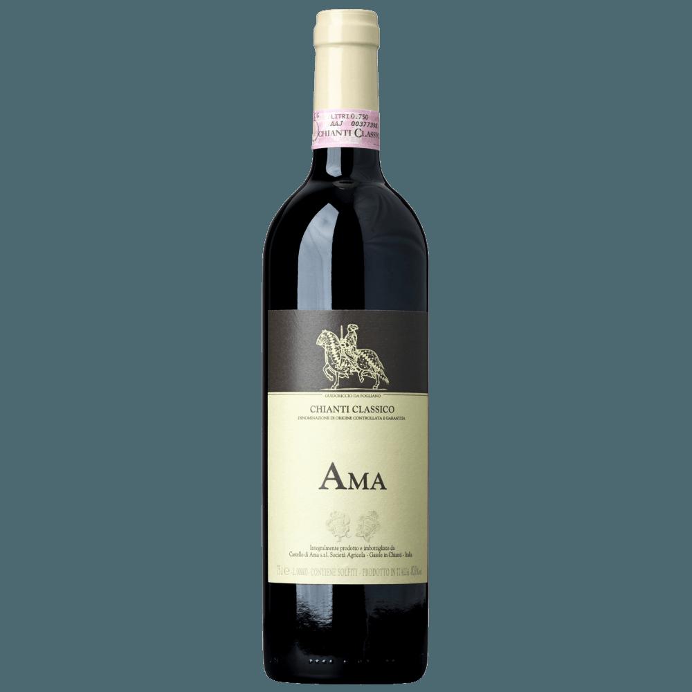 Вино Chianti Classico Ama (красное, сухое), 0.75 л., 2015 г. (S)