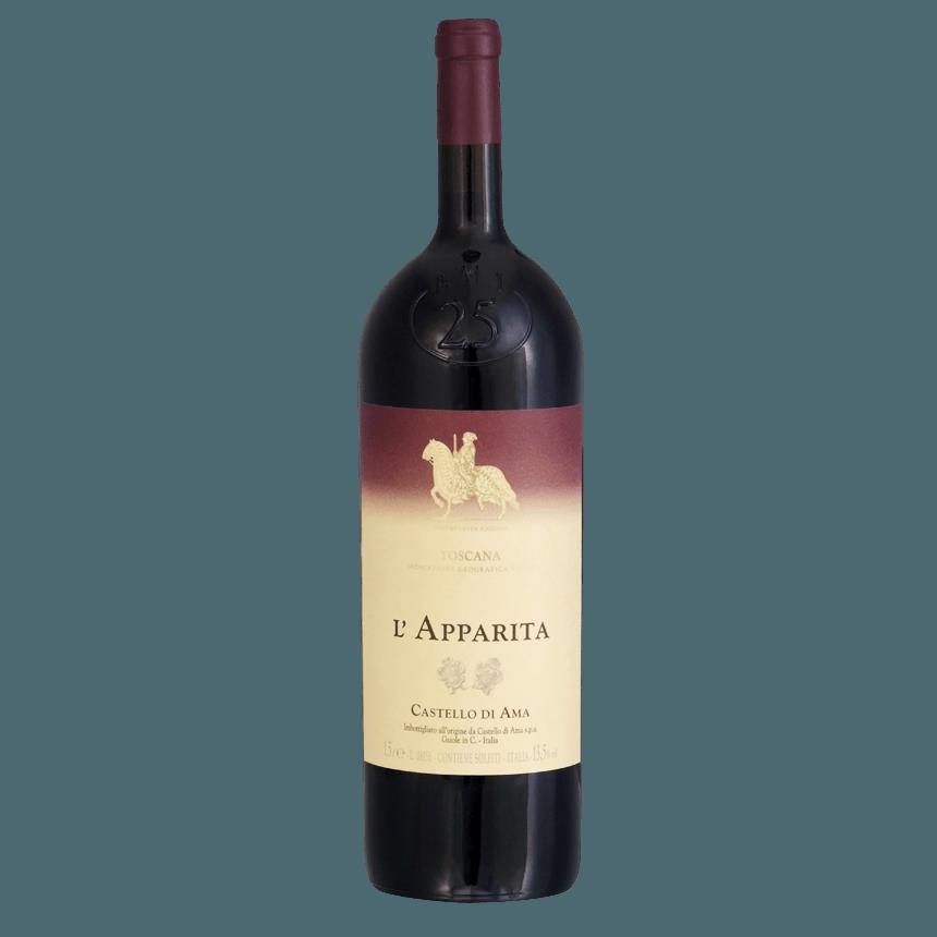 Вино L`Apparita (красное, сухое), 1.5 л., 2004 г. (S)