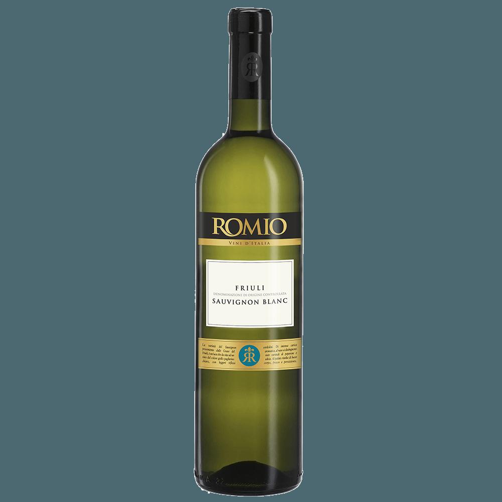 Вино Romio Sauvignon Blanc (белое, полусухое), 0.75 л., 2017 (S)