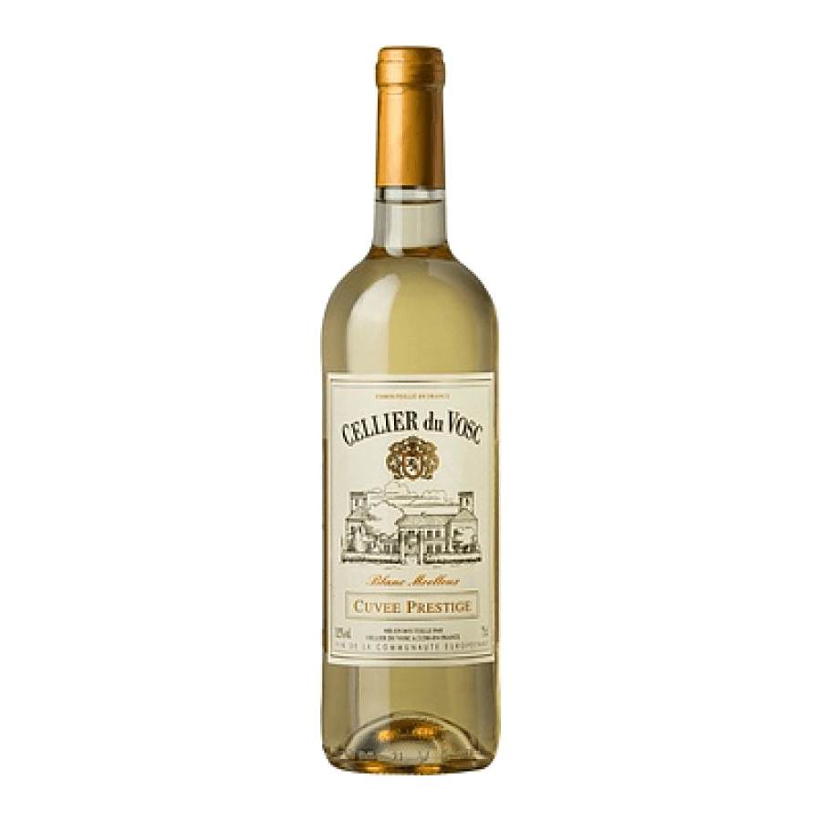 Вино Cellier du Vosc Cuvee Prestige Blanc Moelleux, 0,75 л. (ew)