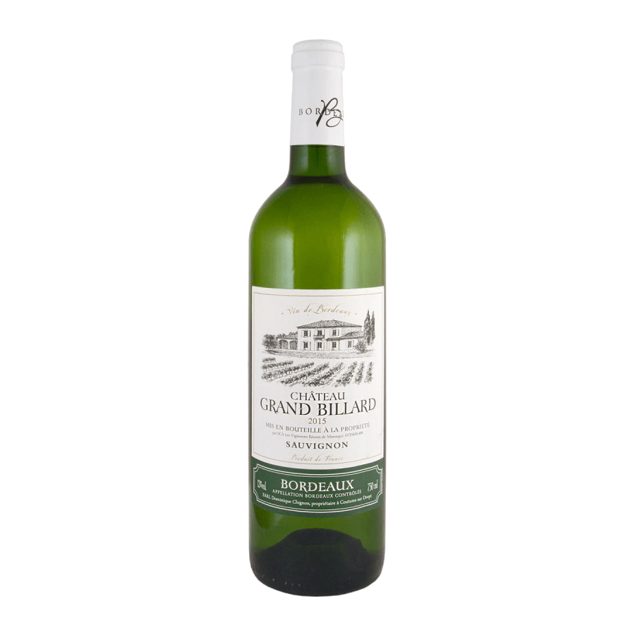 Вино Château Grand Billard Bordeaux (белое, сухое) 0,75л