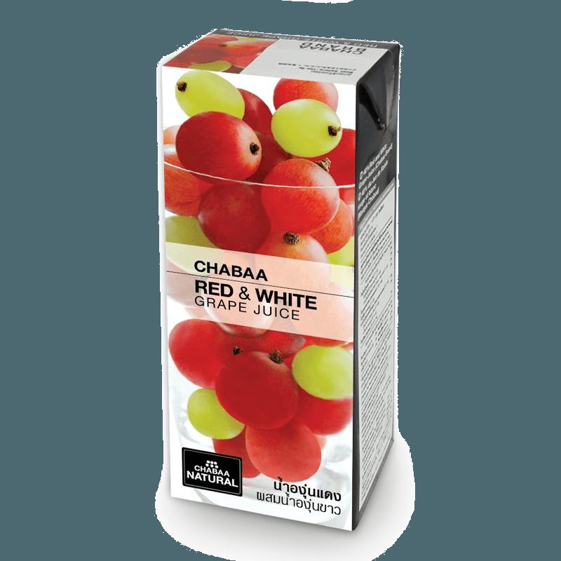 CHABAA Напиток красный белый виноград 0,180л