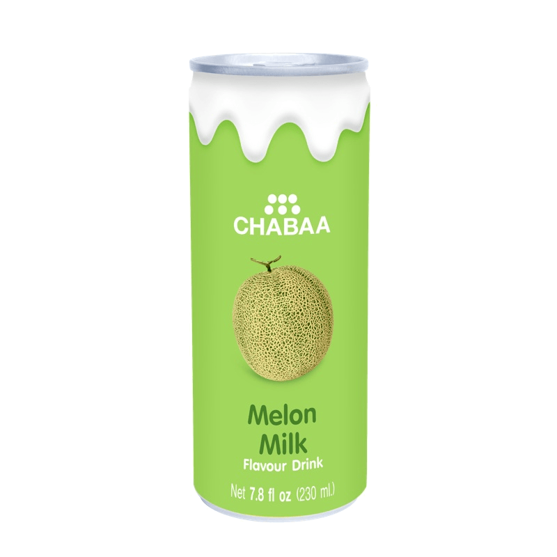 CHABAA Напиток дыня с молоком 0,230л