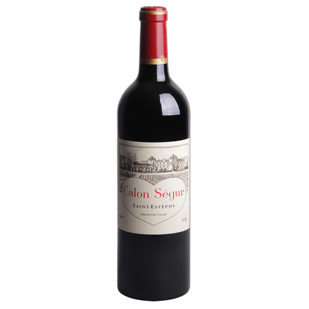 Вино Chateau Calon Segur (красное, сухое), 0,75 л., 2002 г. (S)