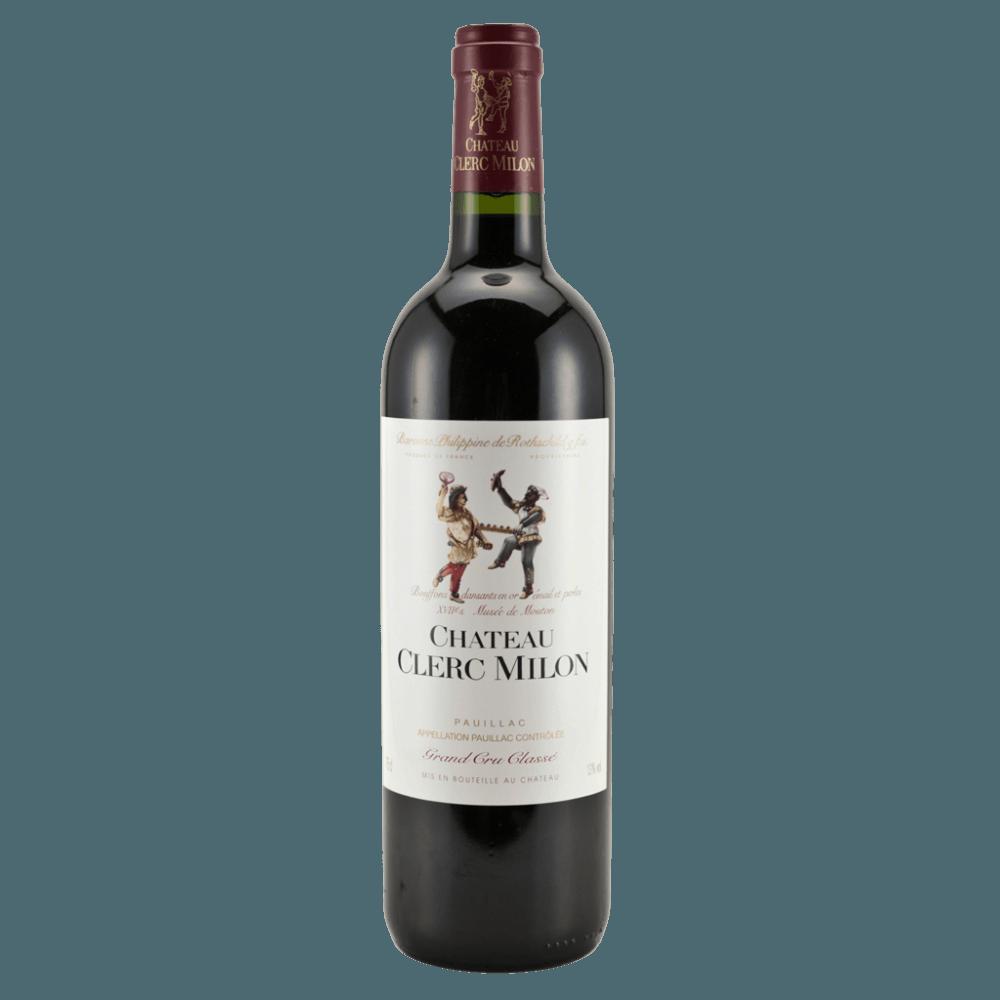 Вино Chateau Clerc Milon (красное, сухое), 0,75 л., 2012 г. (S)