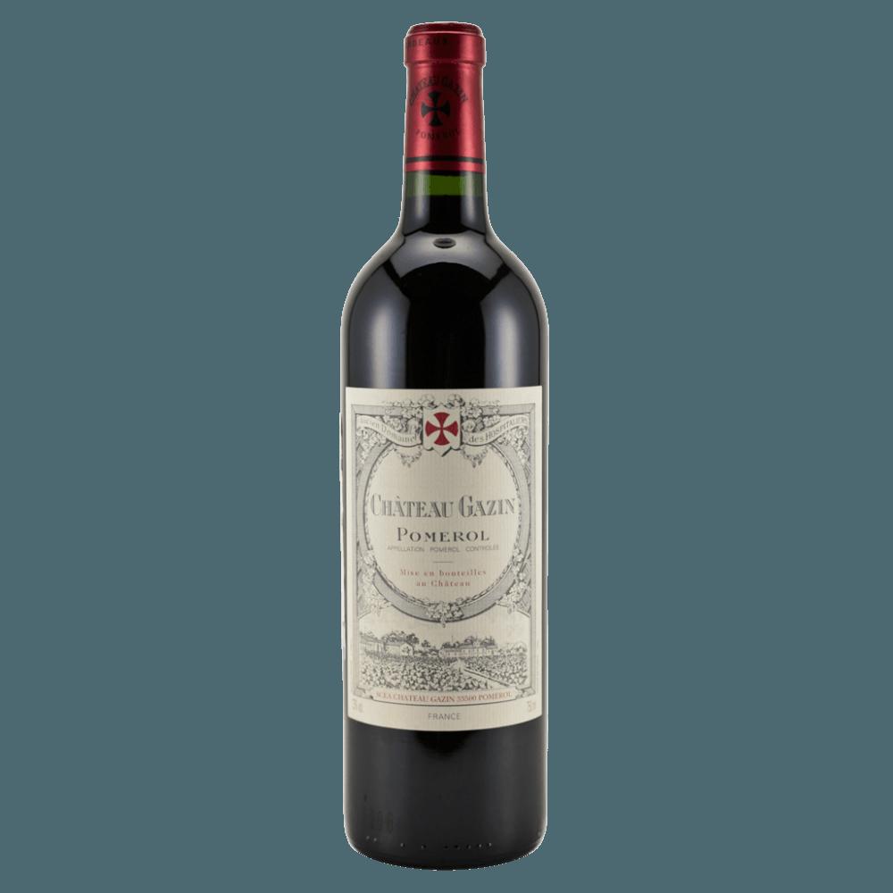 Вино Chateau Gazin (красное, сухое), 0,75 л., 2012 г. (S)