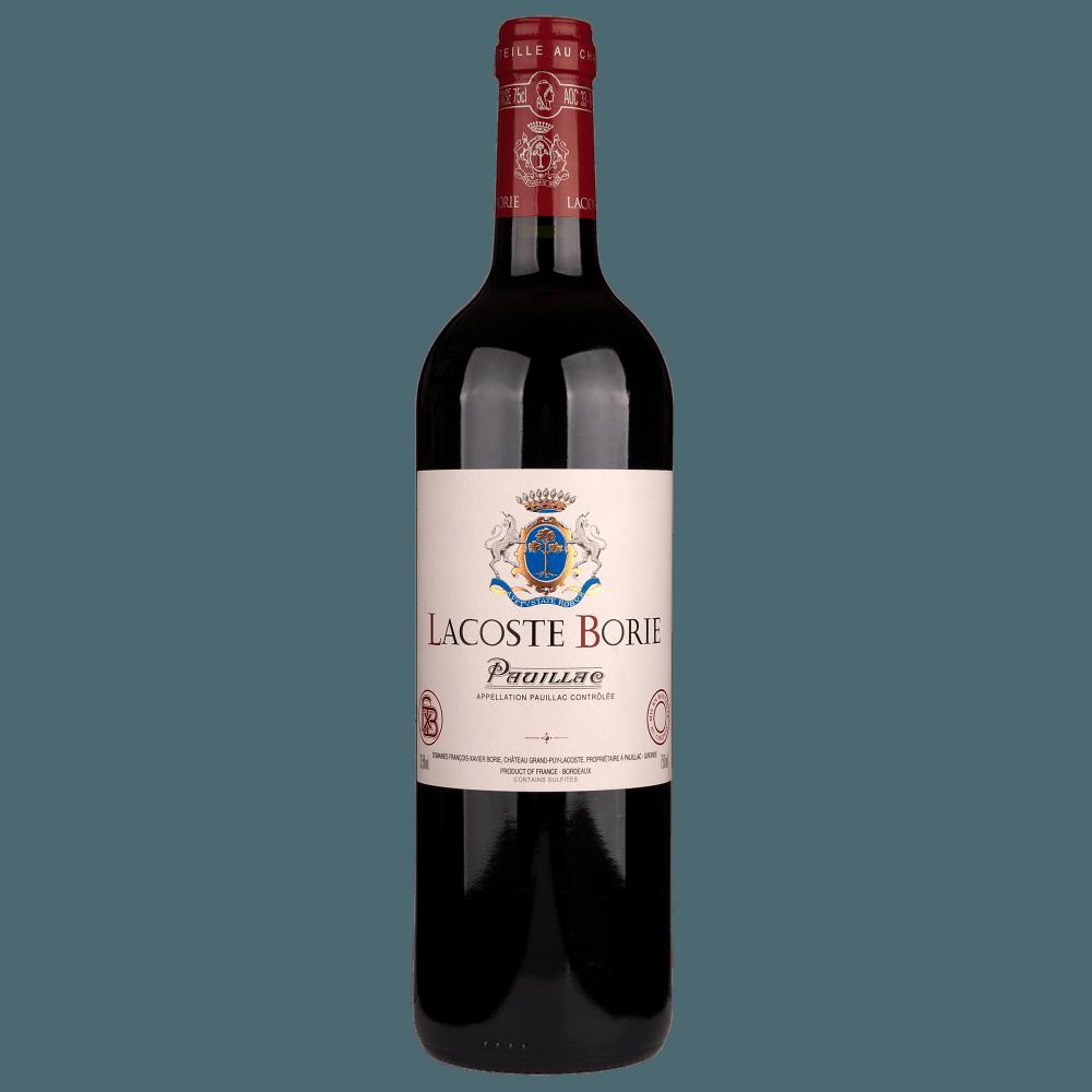 Вино Lacoste-Borie (красное, сухое), 0,75 л., 2012 г. (S)