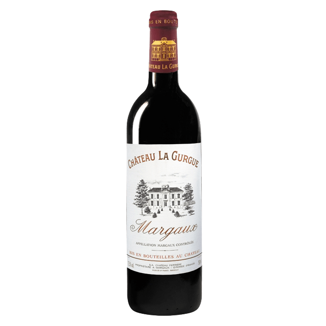 Вино Chateau La Gurgue (красное, сухое), 0,75 л., 2010 г. (S)
