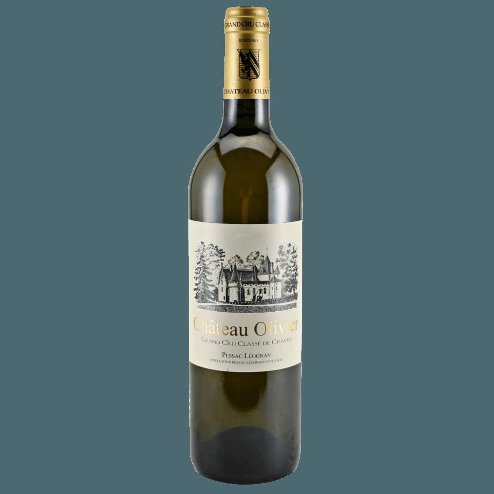 Вино Chateau Olivier Blanc, 0.75 л., 2014 г.