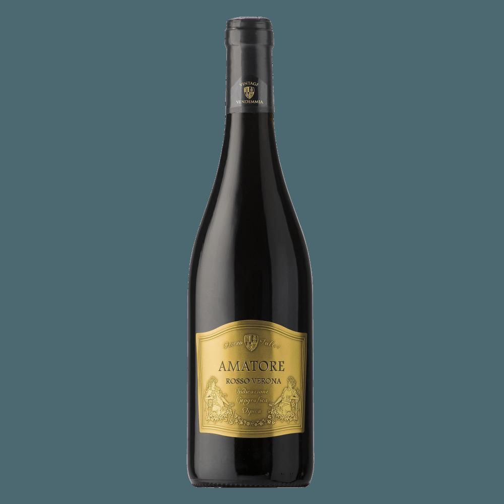 Вино Amatore Rosso Verona, 0.75 л., 2016 г.