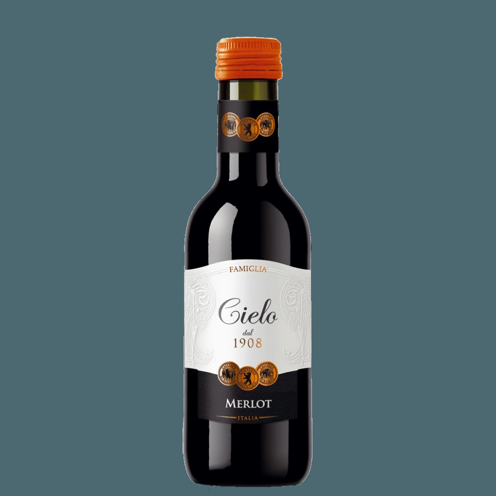 Вино Merlot, 0.187 л., 2017 г.