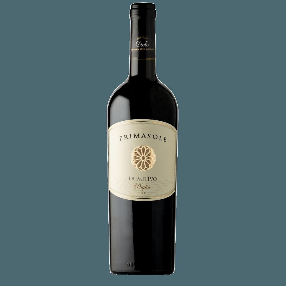 Вино Primasole Primitivo, 0.75 л., 2016 г.