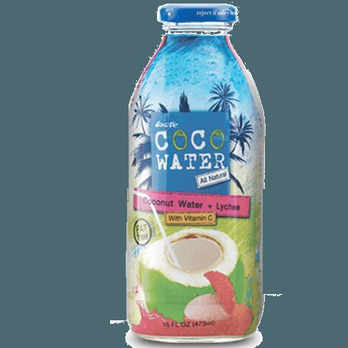 CocoWater, кокосовая вода с соком личи, 250 мл