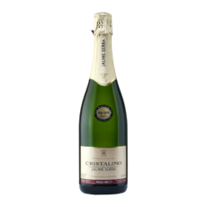 Вино игристое Jaume Serra Cristalino Semi-seco (белое, полусухое) 0,75 л