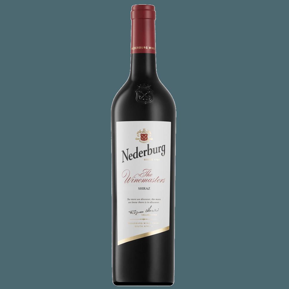 Вино Nederburg Shiraz Winemasters, 0.75 л., 2015 г.