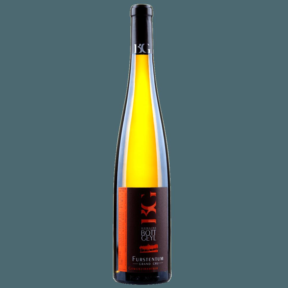 "Вино Gewurztraminer Grand Cru ""Furstentum"", 0.75 л., 2009 г."