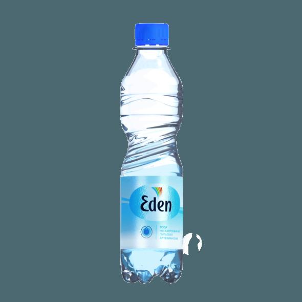 Eden, питьевая негазированная вода, 0.5 л