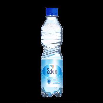 Eden, питьевая газированная вода, 0.5 л