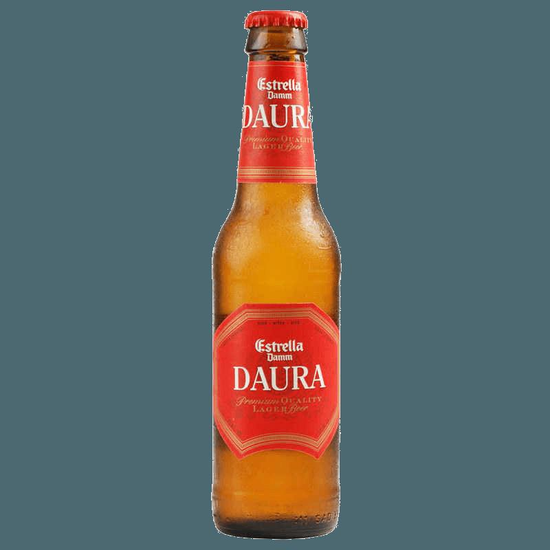 Пиво Estrella Damm Daura, 0.33 л.