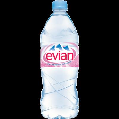 Evian, негазированная минеральная вода, 1.0 л