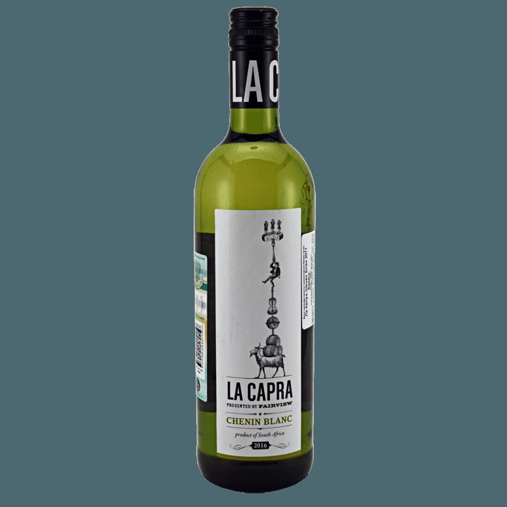 Вино La Capra Chenin Blanc, 0.75 л., 2016 г. (s)