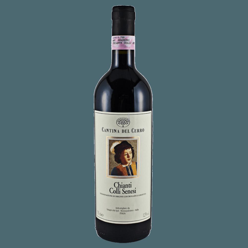 Вино Chianti Colli Senesi, 0.75 л., 2016 г. (s)