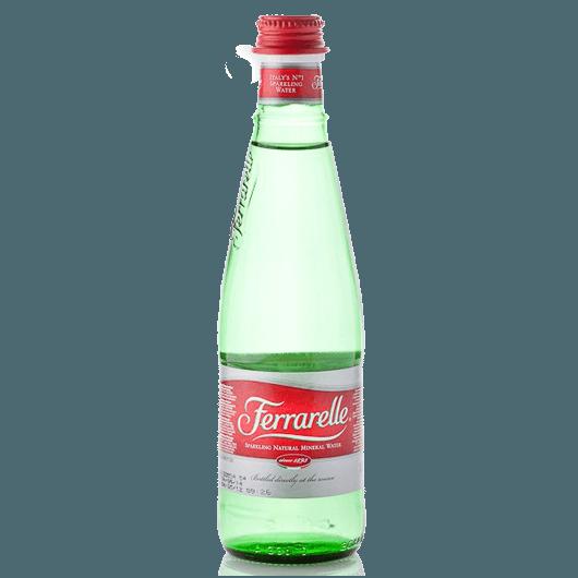 Ferrarelle, газированная минеральная вода, 0.33 л.