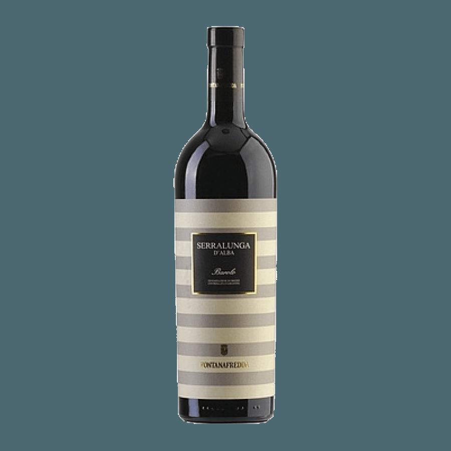 Вино Серралунга Д.Альбо Барола 0,75 л., 2010 г. (ew)