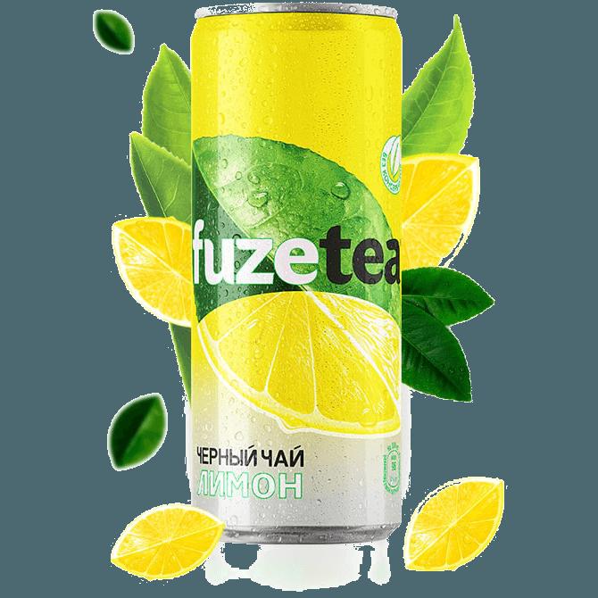 Холодный чай Fuzetea (лимон), 330 мл