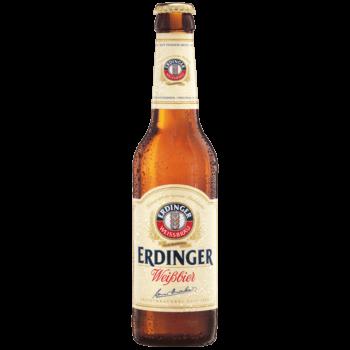 """Пиво """"Erdinger"""", нефильтрованное, 0.33 л."""