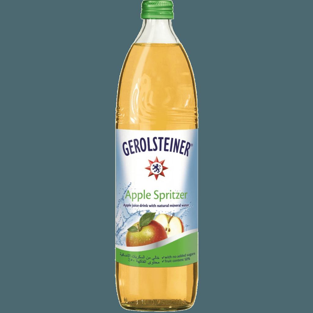 "Gerolsteiner ""Эпл Шпритцер"", напиток из яблок, 0.75 л."