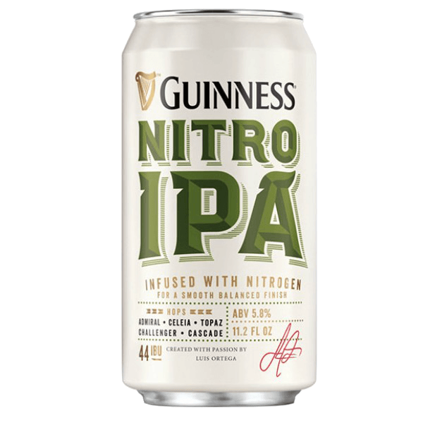 """Пиво """"Guinness"""" Nitro IPA, 0.44 л."""