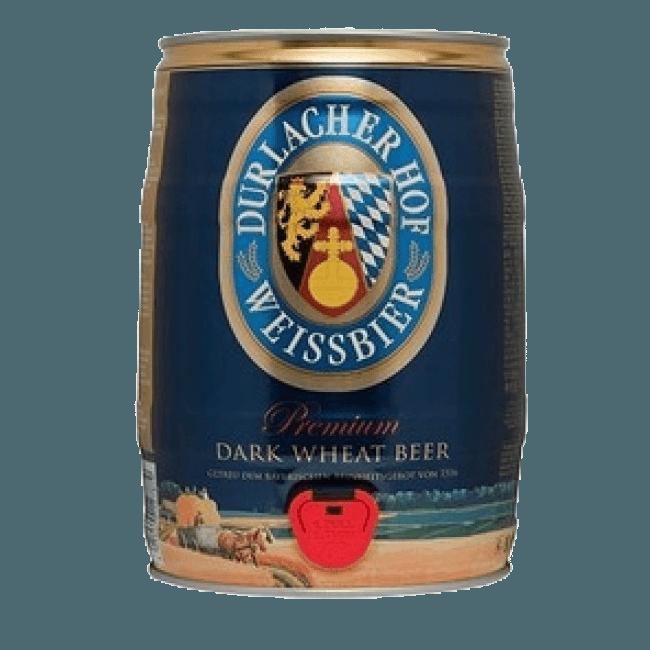 """Пиво """"Дурлашер Хефевайсбир Дункель"""", 5.0 л. (5.3%)"""