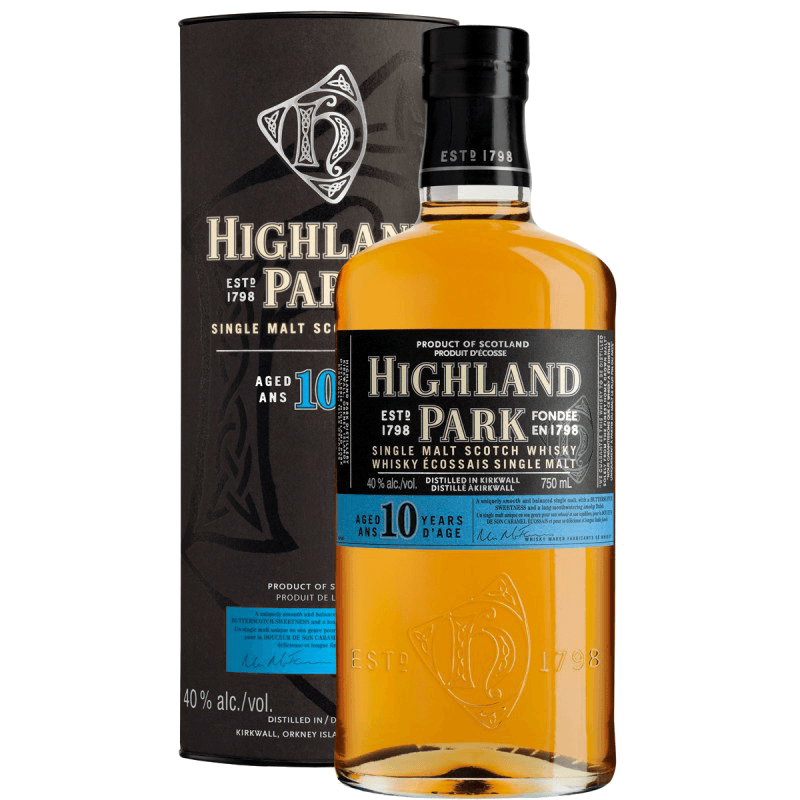 Виски Highland Park 10 Year Old, 0.75 л.