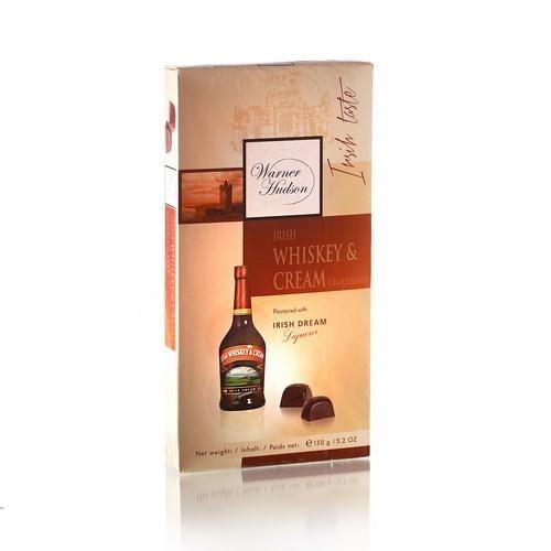 Warner Hudson Шоколадные конфеты с ирландским виски и сливками 150г