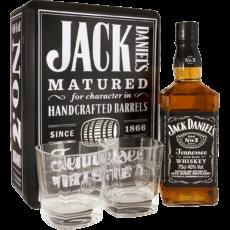 Виски Jack Daniel's Tennessee (2 стакана), 0.7 л.