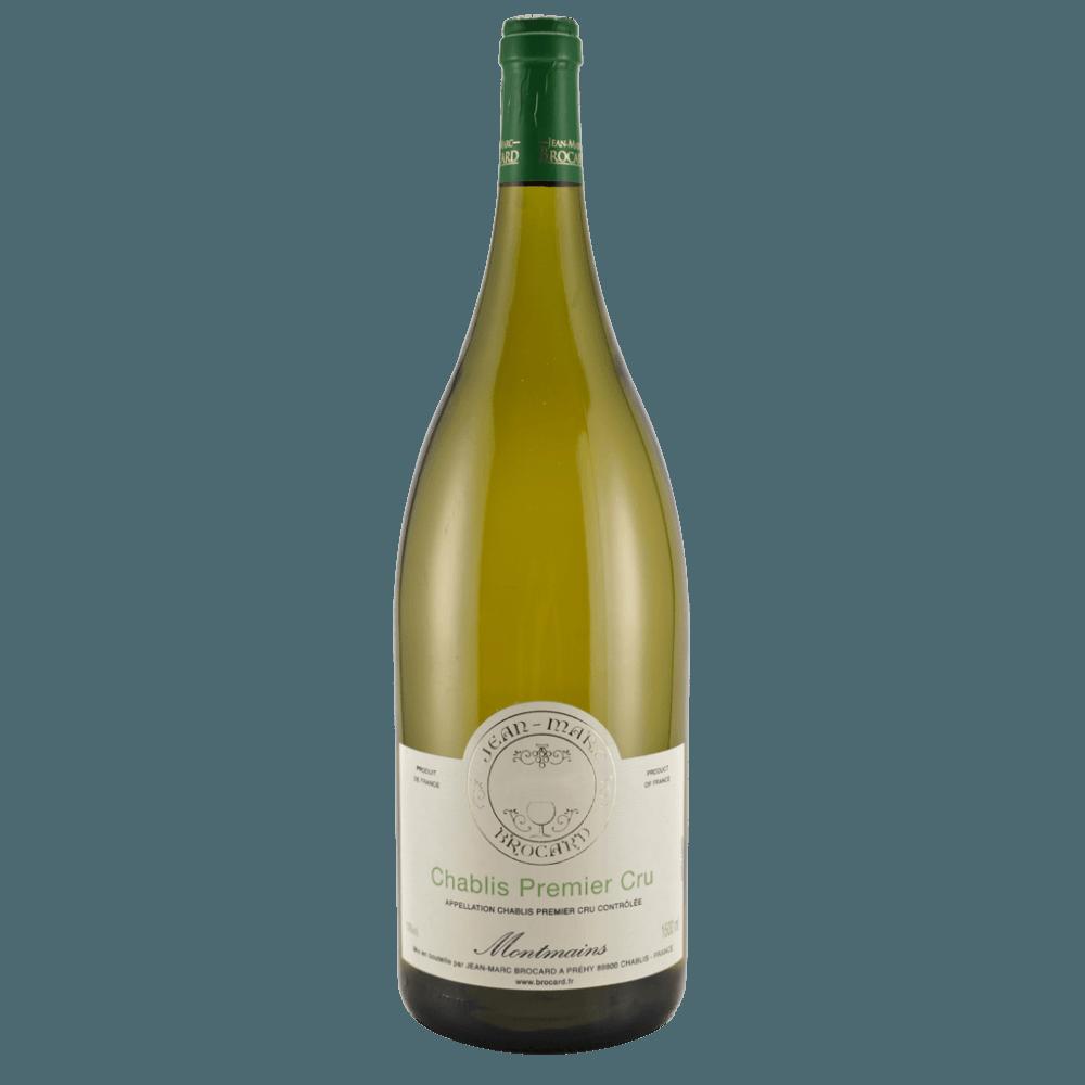 "Вино Chablis Premier Cru ""Montmains"", 1.5 л., 2008 г. (s)"