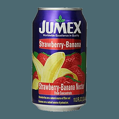 Нектар Jumex Strawberry-Banana Nectar (клубника, банан), 0.335 л.