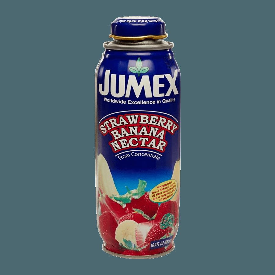 Нектар Jumex Strawberry-Banana Nectar (клубника, банан), 0.473 л.