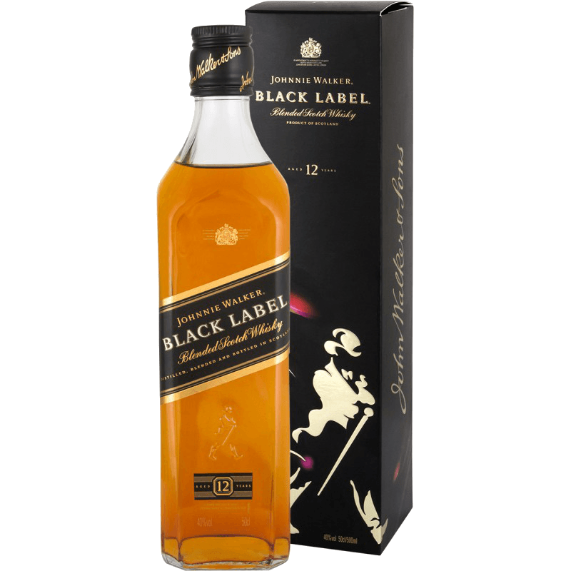 Виски Johnnie Walker Black Label, 0.5 л.