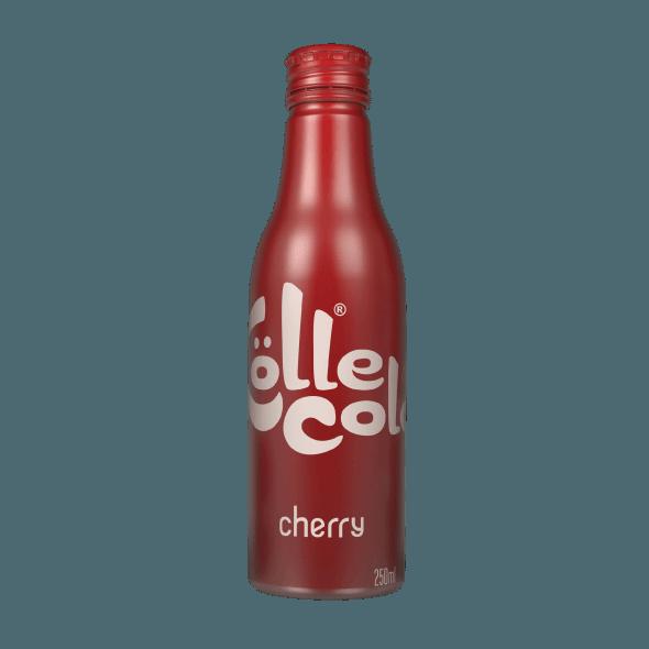 """Газированный напиток Kölle cola Cherry (""""Кёлле кола черри"""") 0,25 л."""