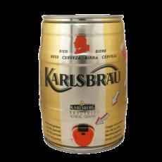 """Пиво """"Karlsbrau Weizen"""" (светлое), 5.0%, 5 литров"""