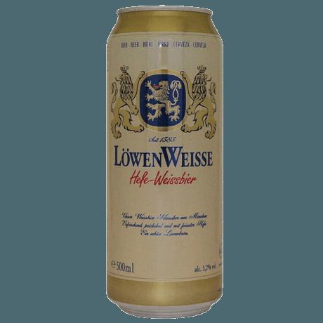 """Пиво """"Lewenweisse"""" Hefe-Weissbier, светлое нефильтрованное, (5.2%)"""