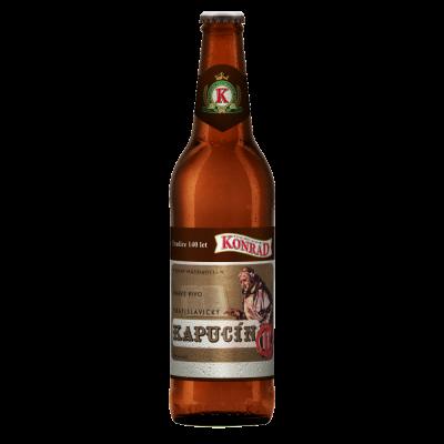 "Пиво ""Konrad"" 11° tmave Vratislavsky kapucin, 0.5 л."