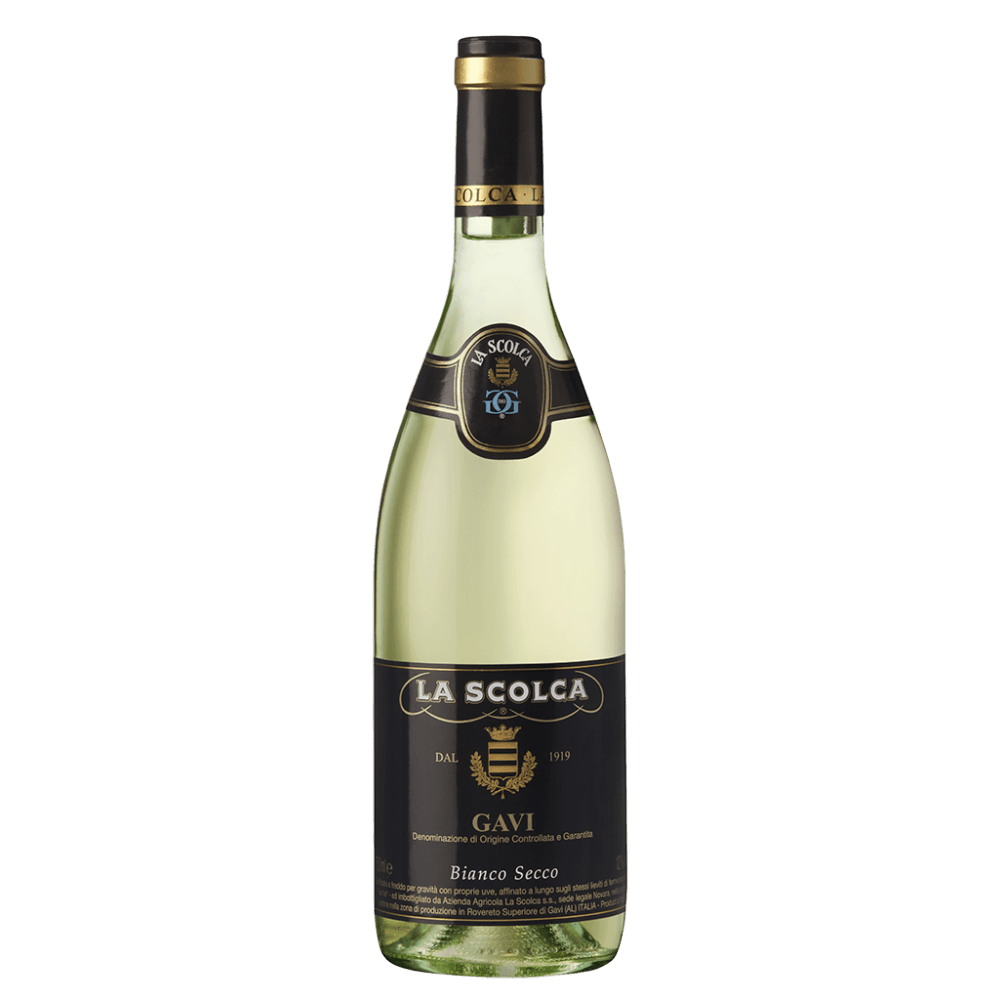 Вино Gavi dei Gavi (Etichetta Nera), 0.75 л., 2016 г. (s)
