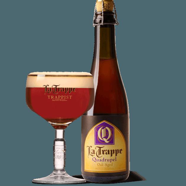 "Пиво ""La Trappe"" Quadrupel Oak Aged, 0.375 л. (11.0%)"