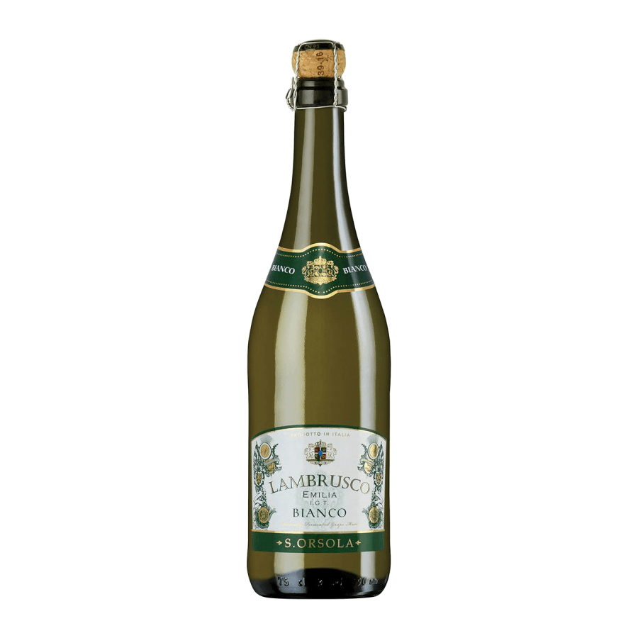 Вино игристое S. ORSOLA Lambrusco Emilia Bianco, 0.75 л.