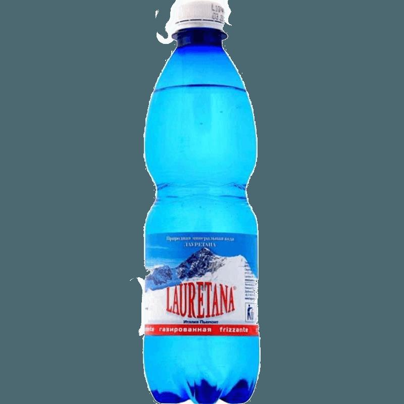 Lauretana, минеральная газированная вода, 0.5 л.