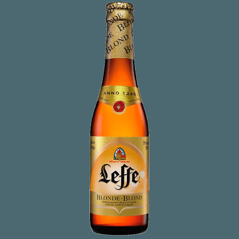 """Пиво """"Leffe"""" Blond, светлое, 0.33 л. (6.6%)"""