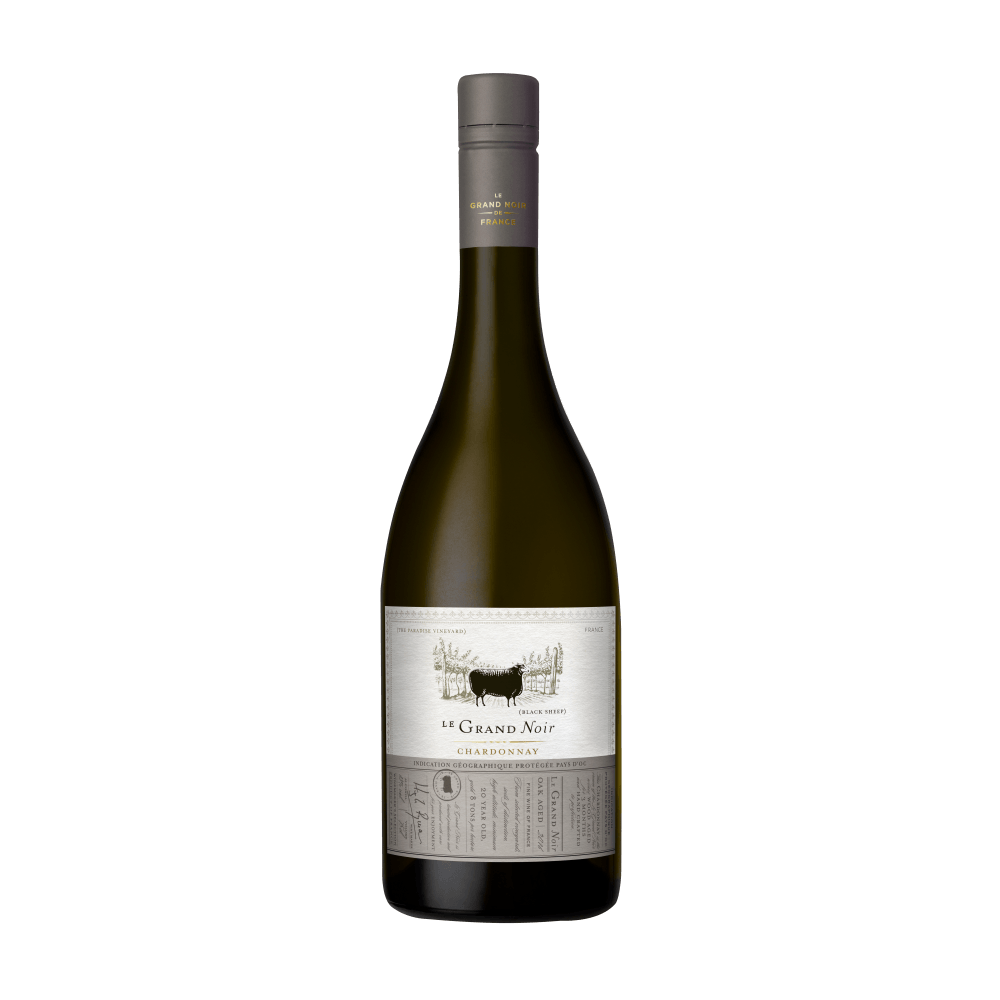 Вино Le Grand Noir Winemaker's Selection Chardonnay, 0.75 л., 2016 г.